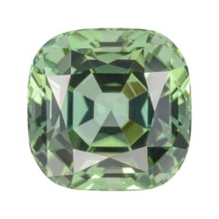 Green Tourmaline Ring Gem 5.27 Carat Loose Gemstone