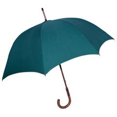Green Vintage Hermes Umbrella