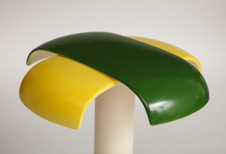Green and Yellow Desk Lamp by Jos Devriendt For Sale 6