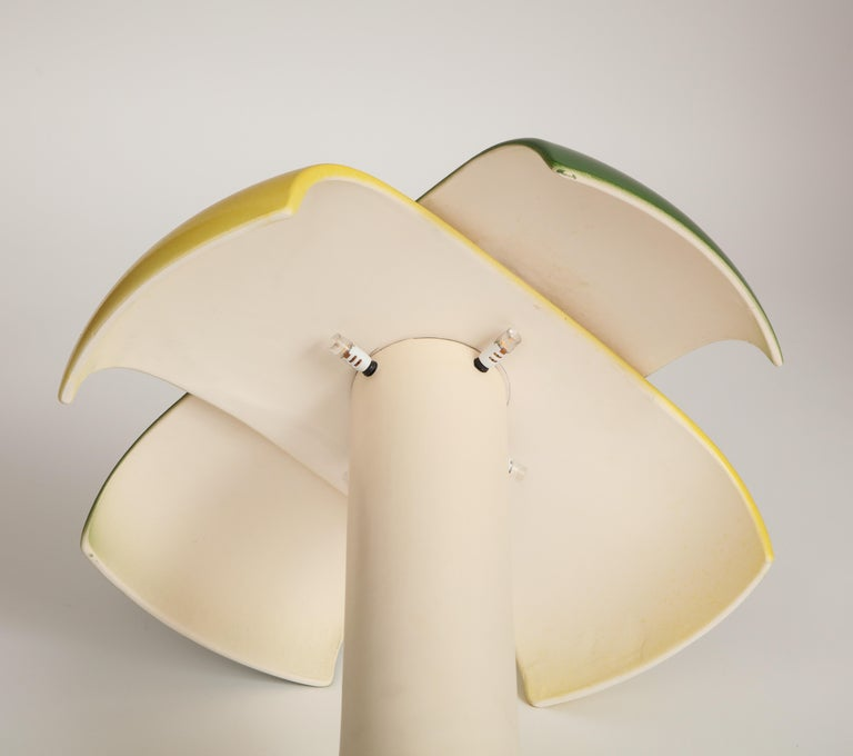 Green and Yellow Desk Lamp by Jos Devriendt For Sale 9