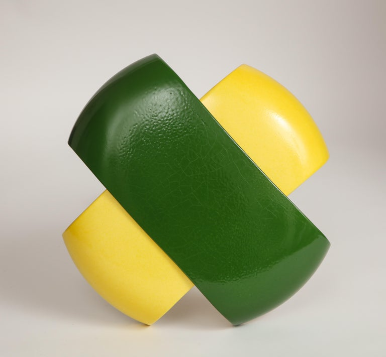 Green and Yellow Desk Lamp by Jos Devriendt For Sale 10