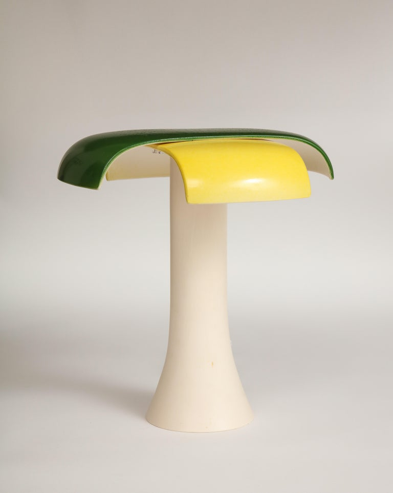 Contemporary Green and Yellow Desk Lamp by Jos Devriendt For Sale
