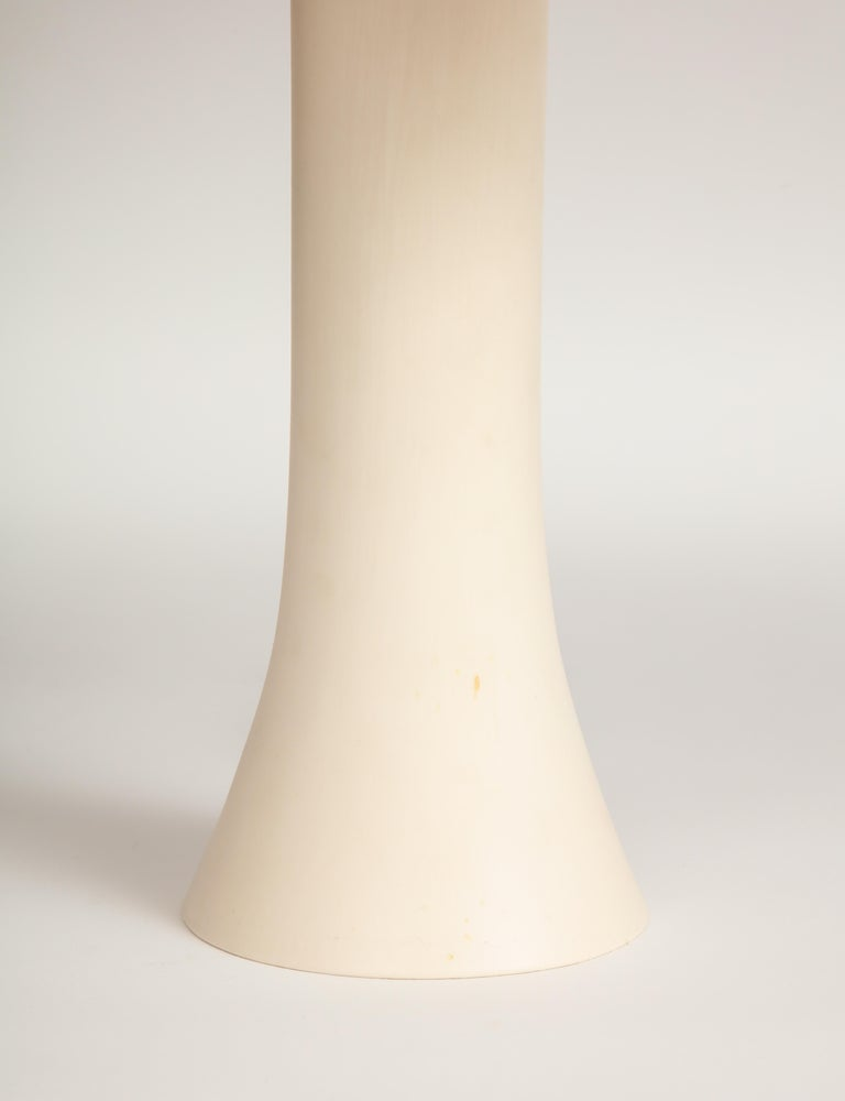 Ceramic Green and Yellow Desk Lamp by Jos Devriendt For Sale