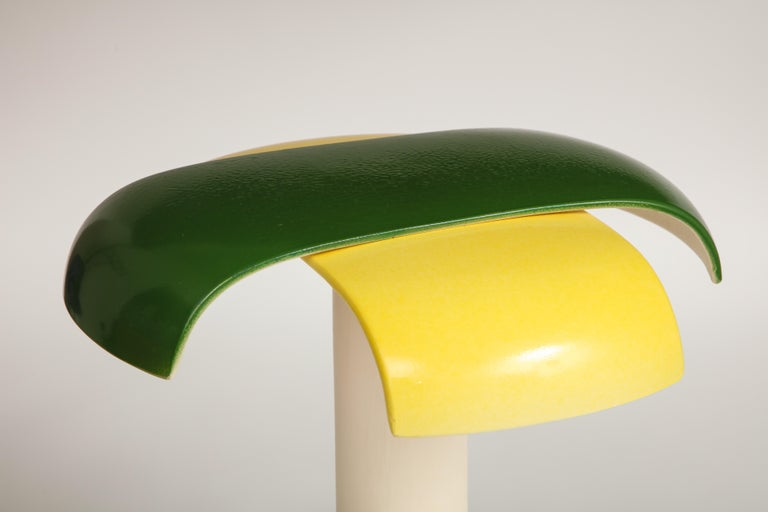 Green and Yellow Desk Lamp by Jos Devriendt For Sale 1