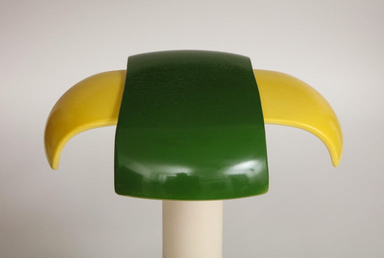 Green and Yellow Desk Lamp by Jos Devriendt For Sale 3