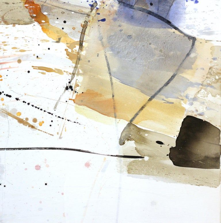Open Spaces - Abstract Mixed Media Painting (framed) For Sale 5