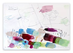 Blütendolden (Abstract Expressionism painting)
