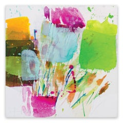 Color gardening IX (Abstract Expressionism painting)