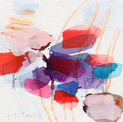 Color spots II (Abstract Expressionism painting)
