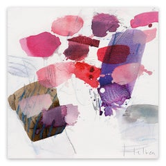 Color Spots III (Abstract Expressionism painting)