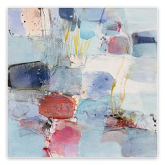 The ice is broken (Abstract Expressionism painting)