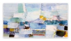 Verspielte See (Abstract Expressionism painting)