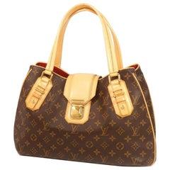 Greet  Womens  shoulder bag M52210  brown Leather