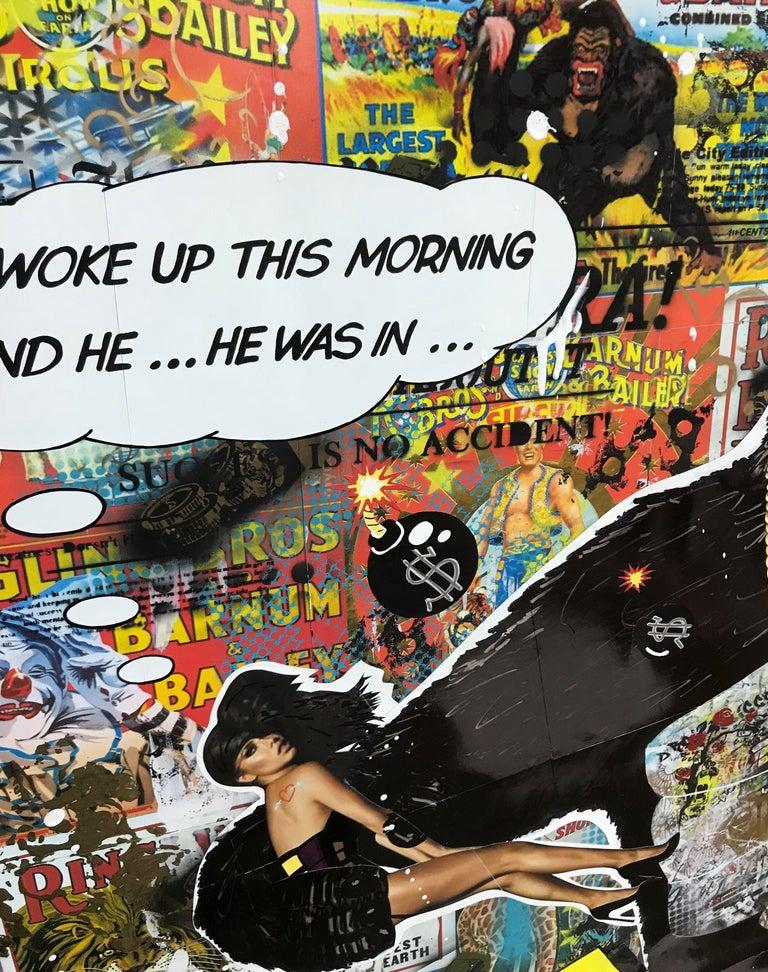 Animal, Mixed Media on Canvas - Pop Art Mixed Media Art by Greg Beebe