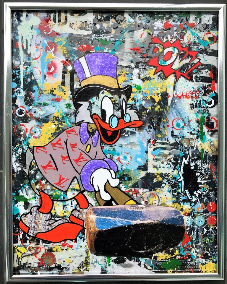 Dy-no-mite - Wynwood Series, Mixed Media on Other For Sale 2