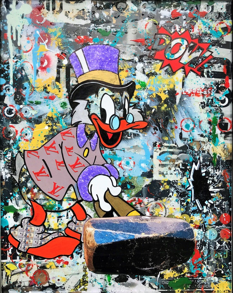 Dy-no-mite - Wynwood Series, Mixed Media on Other - Mixed Media Art by Greg Beebe