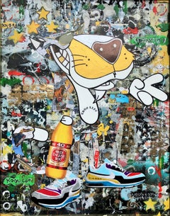 Kool Kat - Wynwood Series, Mixed Media on Other