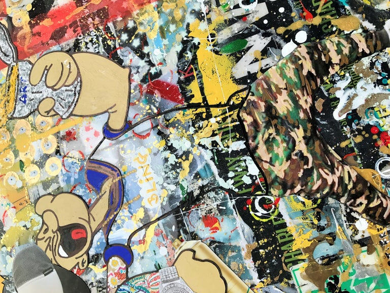 Paint the Wallz - Wynwood Series, Mixed Media on Other - Pop Art Mixed Media Art by Greg Beebe