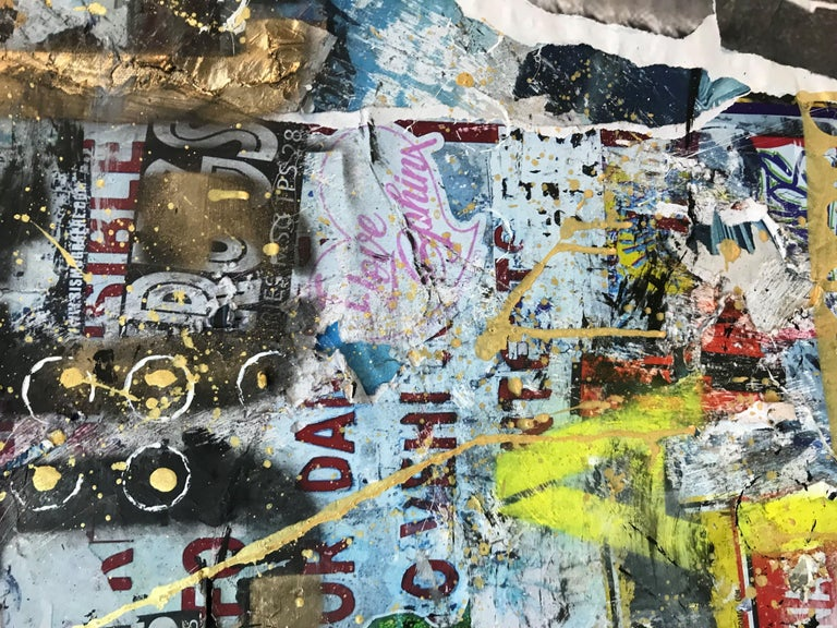 Punk, Mixed Media on Canvas For Sale 2