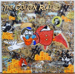 The Golden Rule, Mixed Media on Canvas