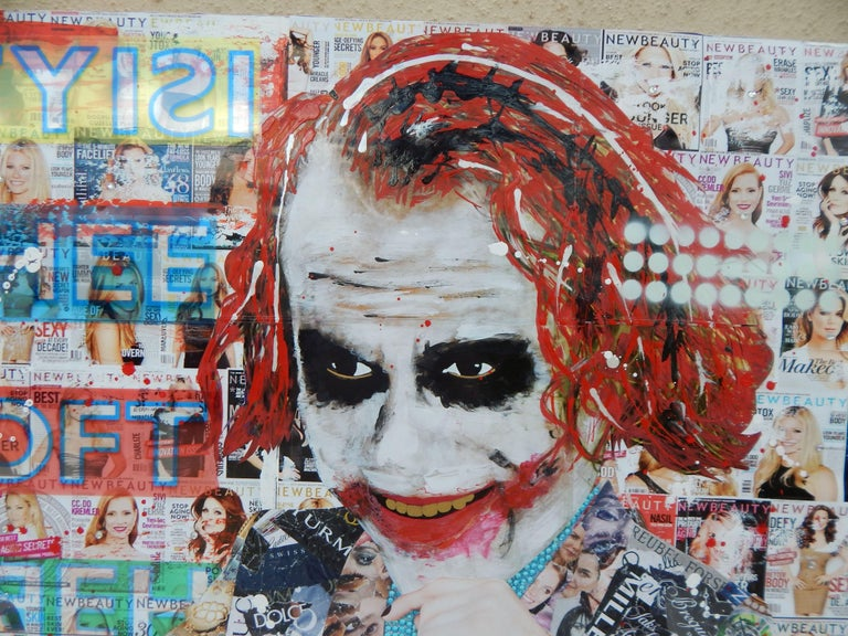 Using imagery from the movie, The Dark Knight, The Joker, played by Heath Ledger is used to show the contrast from what others may deem not beautiful versus the individual's personal view leaving the decision to the individual. Objective of the