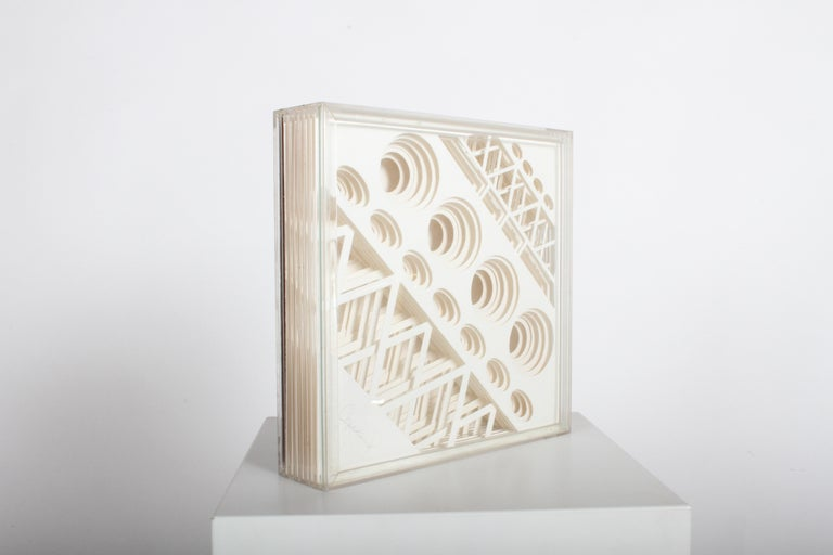 Greg Copeland 1970s 3-D Geometric Op Art In Good Condition For Sale In St. Louis, MO