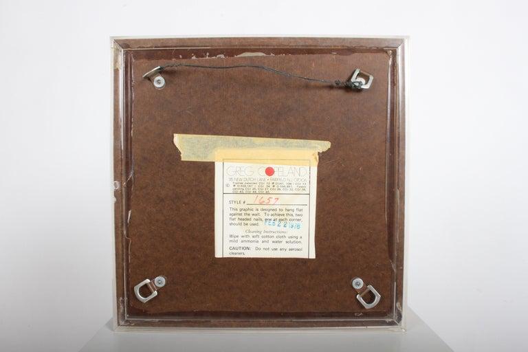 Lucite Greg Copeland 1970s 3-D Geometric Op Art For Sale