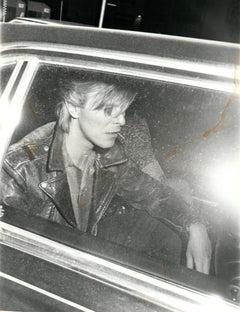David Bowie in Los Angeles Vintage Original Photograph