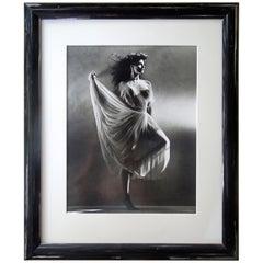 Greg Gorman Gallery B&W Photograph of Actress Joan Severance