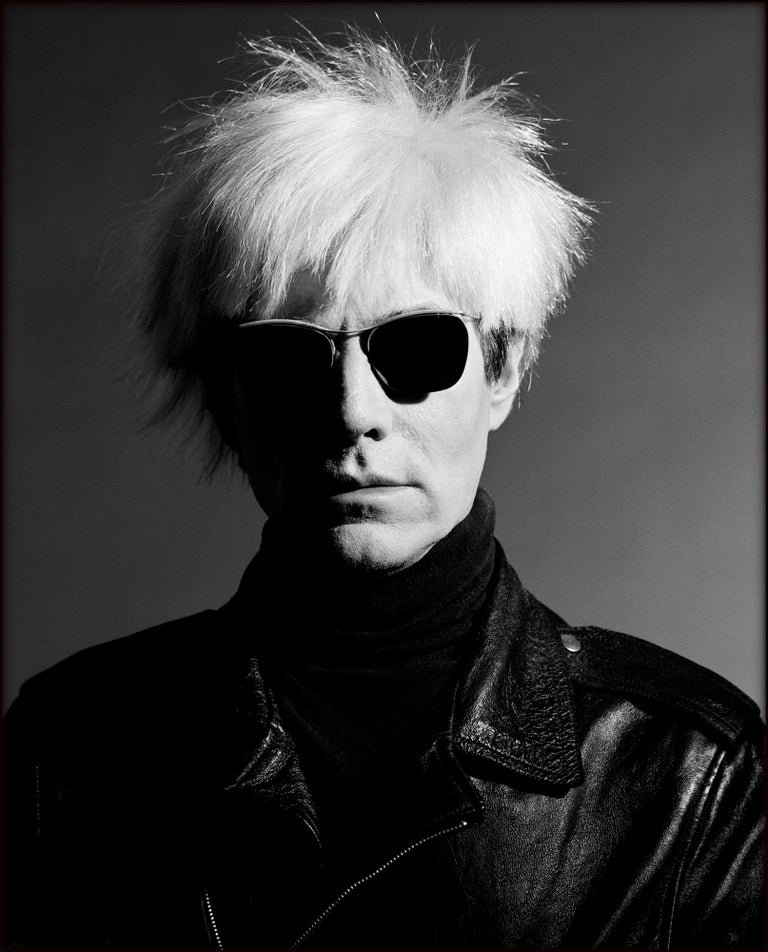 Greg Gorman Black and White Photograph - Andy Warhol, Los Angeles, 21st Century, Contemporary, Celebrity, Photography