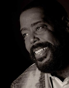 Barry White, Contemporary, Celebrity, Photography, Portrait