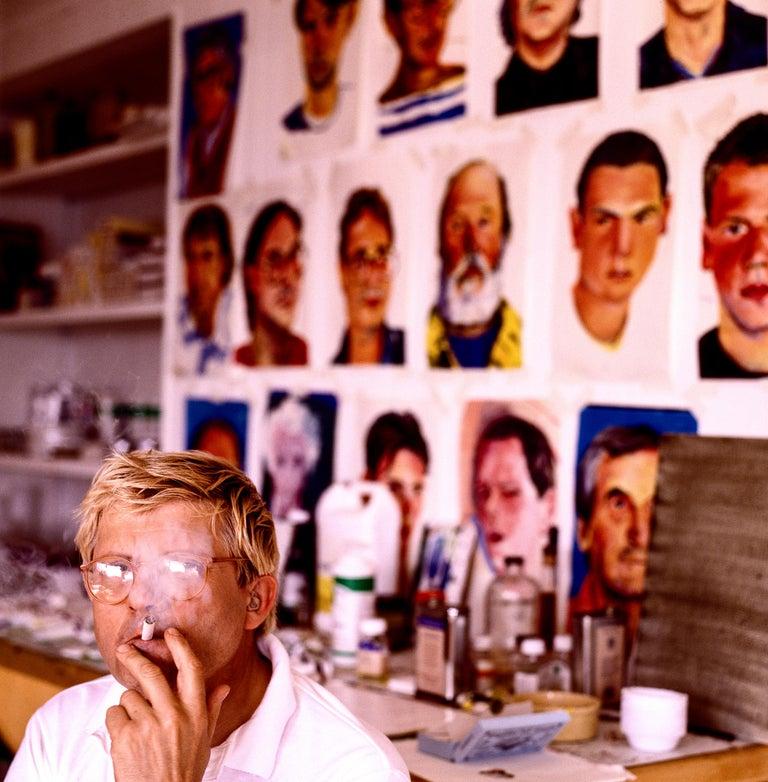 Greg Gorman Color Photograph - David Hockney Portraits, 21st Century, Contemporary, Celebrity, Photography