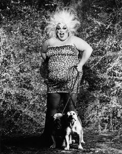 Divine and Bulldogs, 16x20, 21st Century, Contemporary, Celebrity, Photography