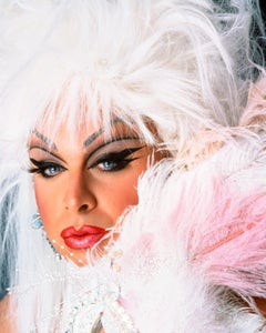 Divine with feathers, 21st Century, Contemporary, Celebrity, Photography