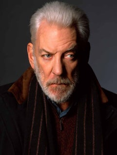 Donald Sutherland, Contemporary, Celebrity, Photography, Portrait