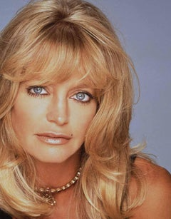 Goldie Hawn, Contemporary, Celebrity, Photography, Portrait