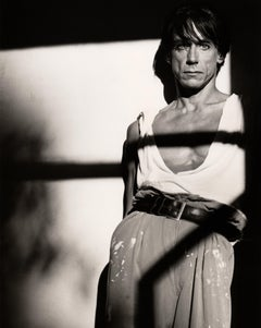 Iggy Pop in Painter's pants, Contemporary, celebrity, Photography