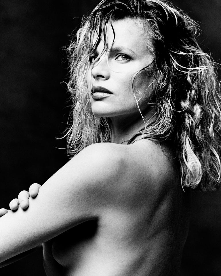 Greg Gorman Black and White Photograph - Kim Basinger, Los Angeles, 21st Century, Contemporary, Celebrity, Photography