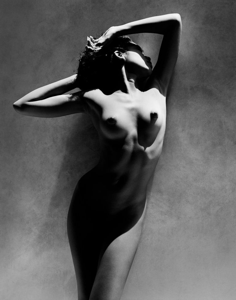 Greg Gorman Black and White Photograph - Lisa Ann, Los Angeles, 21st Century, Contemporary, Celebrity, Photography