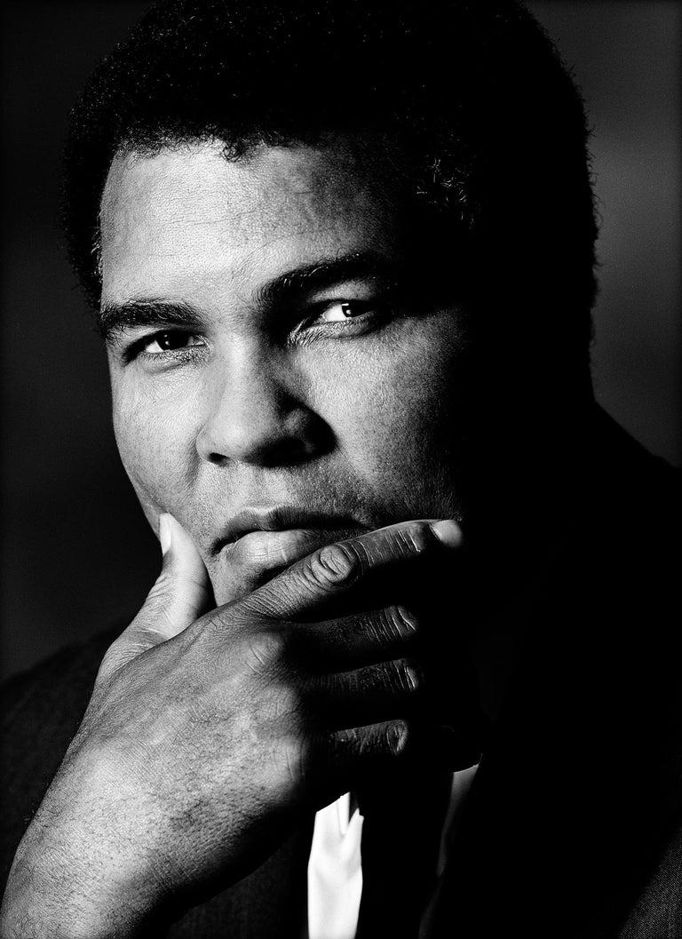 Greg Gorman Black and White Photograph - Muhammad Ali, 21st Century, Contemporary, Celebrity, Photography