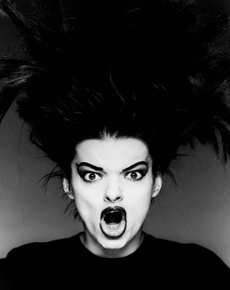Greg Gorman Black and White Photograph - Nina Hagen, Los Angeles, 21st Century, Contemporary, Celebrity, Photography
