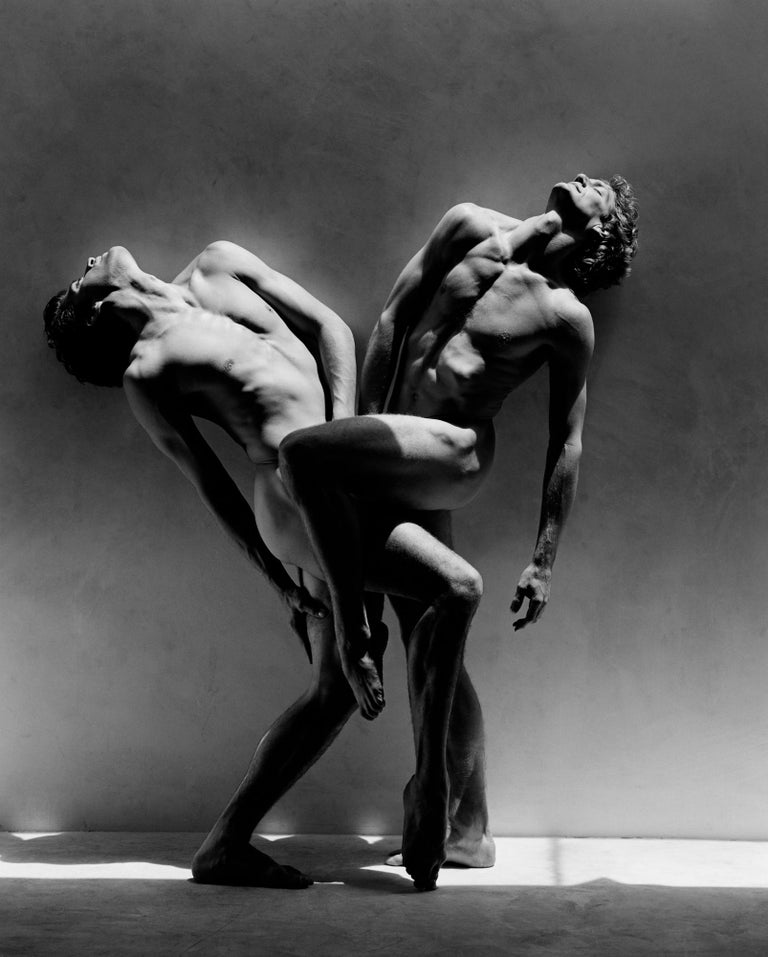 Greg Gorman Black and White Photograph - Rex and Gregory, Los Angeles, 21st Century, Contemporary, Celebrity, Photography