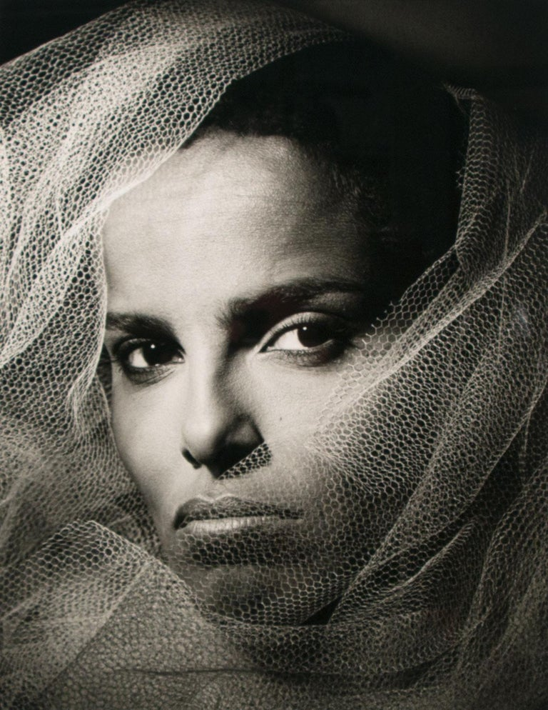 """Shari Belafonte"" Limited Hand-Signed Gelatin Silver Print by Greg Gorman For Sale 1"