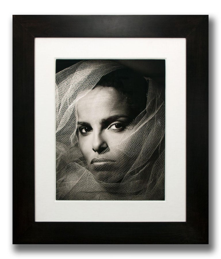 """Shari Belafonte"" Limited Hand-Signed Gelatin Silver Print by Greg Gorman For Sale 2"