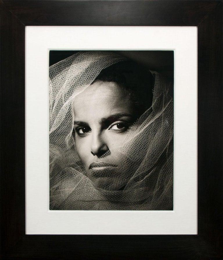 """Shari Belafonte,"" an original Silver Gelatin Print by photographer Greg Gorman, is a piece for the true collector. Impressively vivid emotion and detail projects from the work, highlighting Gorman's exceptional talent at capturing the essence of"