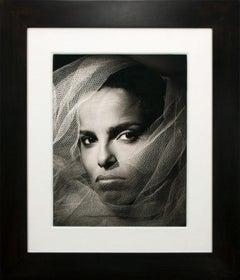 """Shari Belafonte"" Ltd Hand-Signed Gelatin Silver Print by Greg Gorman, Framed"