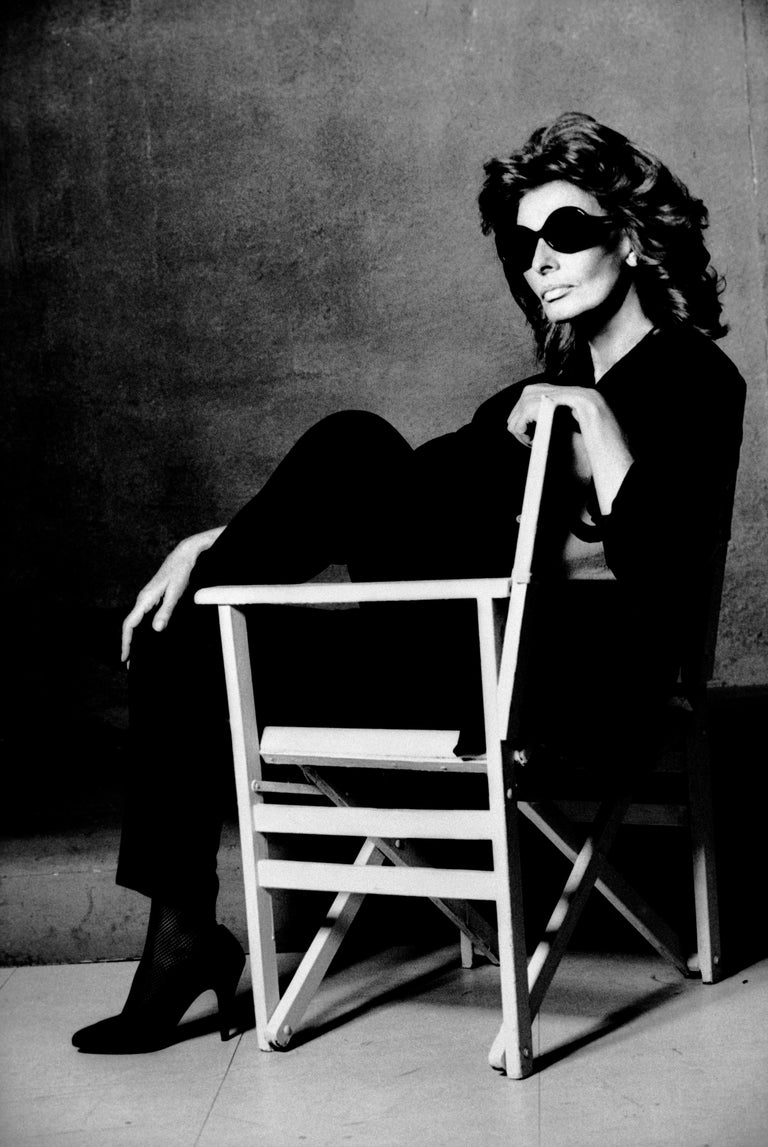 Greg gorman sophia loren 21st century contemporary celebrity photography