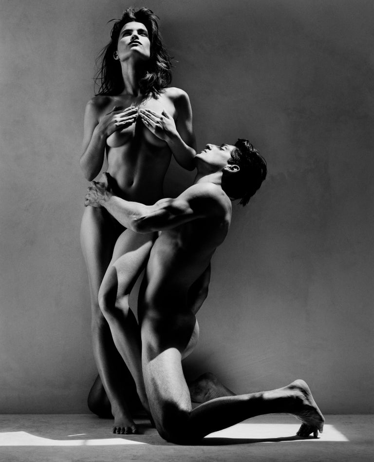 Greg Gorman Black and White Photograph - Tony and Rosetta, LA, 21st Century, Contemporary, Celebrity, Photography