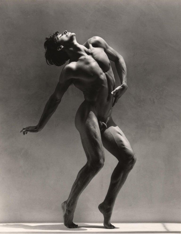 Greg Gorman Black and White Photograph - Tony Ward Figure series #2, 21st Century, Contemporary, Celebrity, Photography