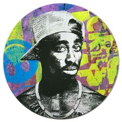 Tupac Shakur Vinyl Greg Gossel Pop Art LP Record (Singles & Sets Available)